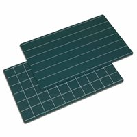 Greenboards With Lines And Squares - Set of 2
