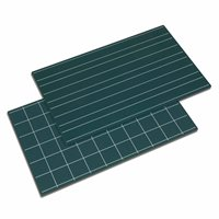 Greenboards With Double Lines And Squares - Set of 2