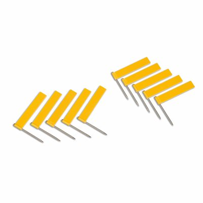 Nienhuis - Extra Flags: Yellow - Pack of 10