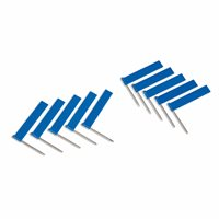 Extra Flags: Blue - Pack of 10