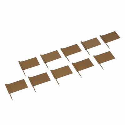 Nienhuis - Extra Flags: Gold - Pack of 10