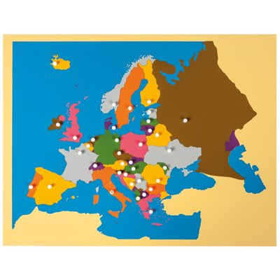 Europe Puzzle Map: Europe on