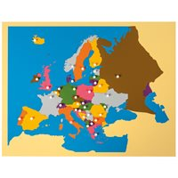 Europe Puzzle Map: Europe