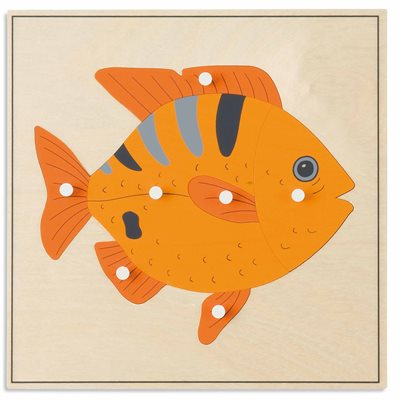 Nienhuis - Animal Puzzle: Fish
