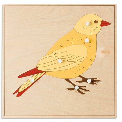 Nienhuis - Animal Puzzle: Bird