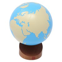 D- Globe Of The World Parts