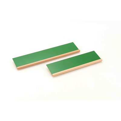 D- 2 Sloping Green Stands For Metal Squares