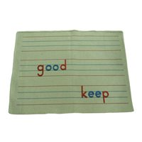 Spelling Mat For Large Movable Alphabet
