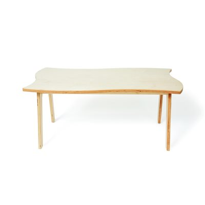 "Mindset Learning Wavy Table 24""W x 48""L x 16""H"