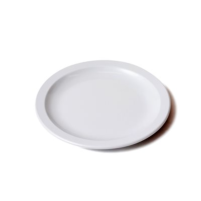 "9"" Melamine Plate - Heavy Duty - White"
