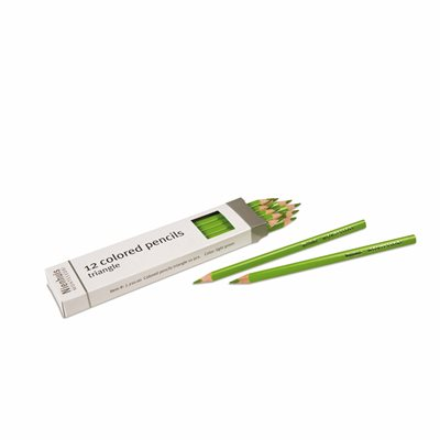 Nienhuis - 3-Sided Inset Pencils, Light Green