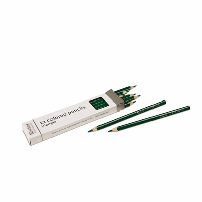 Nienhuis - 3-Sided Inset Pencils, Dark Green*
