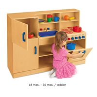 All-In-One Toddler Kitchen