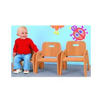 Hardwood Toddler Chair - 6""