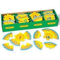 Decomposing Numbers Fluency Puzzle