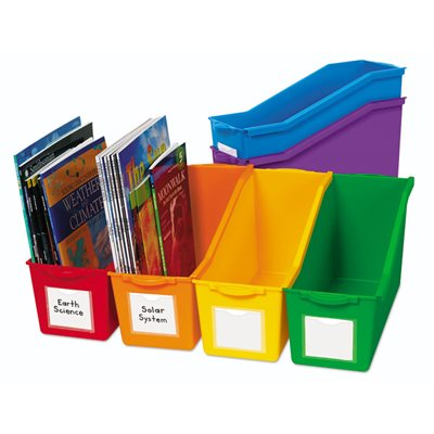 Connect and Store Book Bins - Set of 6