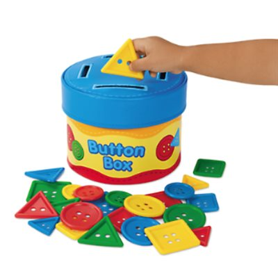 Button Size-Sorting Box