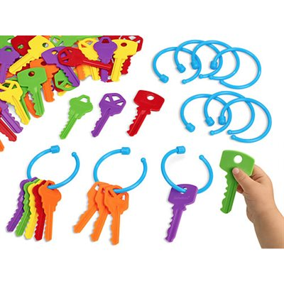 Lacing Keys Toddler Activity Box