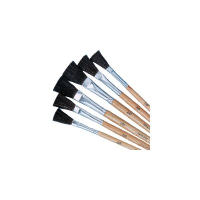 Black Bristle Brushes Pk / 72