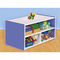 Kids Colours™ Toddler Double-Sided Storage Unit - Blue