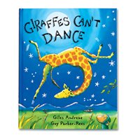Giraffes Can't Dance-Hardcover