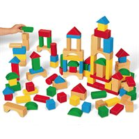 Tabletop Hardwood Blocks-Class Set