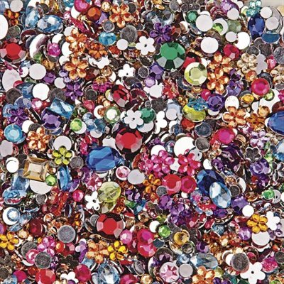 Faceted Gemstones - 1 / 2 Lb