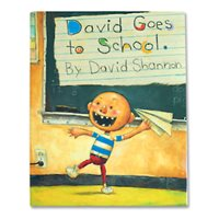 David Goes To School-Hardcover Book