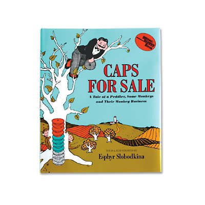 Caps for Sale Hardcover Book