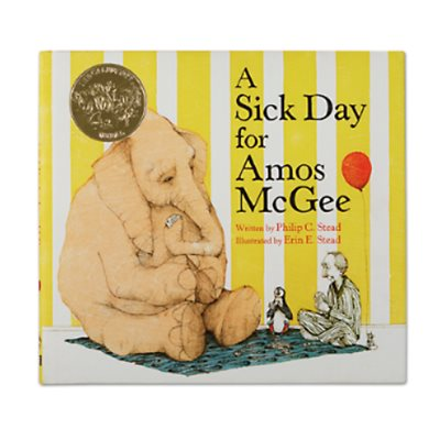A Sick Day For Amos McGee-Hardcover
