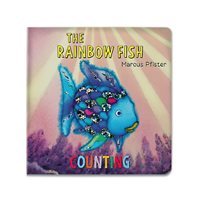 The Rainbow Fish: Counting Board Book