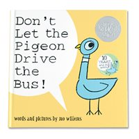 Don't Let the Pigeon Drive the Bus! Hardcover Book
