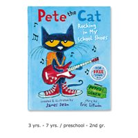Pete the Cat: Rocking in My School Shoes Book