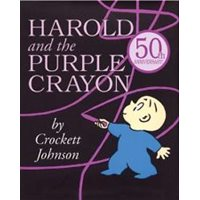 Harold & The Purple Crayon Hardcover Book