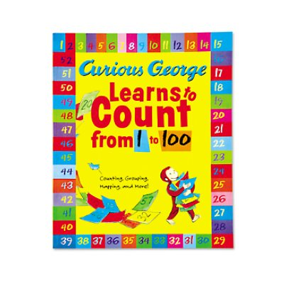 Curious George Learns to Count from 1-100 Big Book