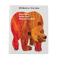 Brown Bear, Brown Bear, What Do You See? Hardcover Book
