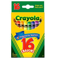 Crayola® Regular Size Crayons-Box of 16-Single