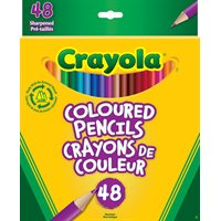 Crayola Coloured Pencils-48 Pack