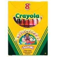 Crayola® Crayola Multicultural Crayons 8 Count - Single Box