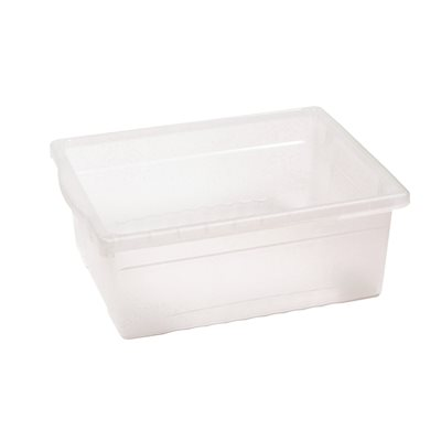 Large Open Tub - Clear