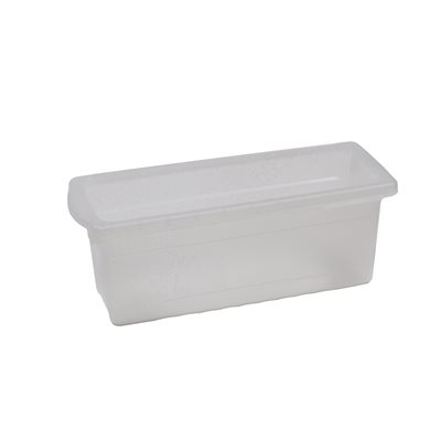 Small Open Tub- Clear