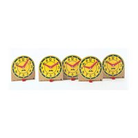 "Judy® Mini Clocks -4"" Clocks Set of 12"