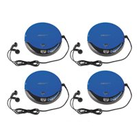 Student CD Player-Set of 4