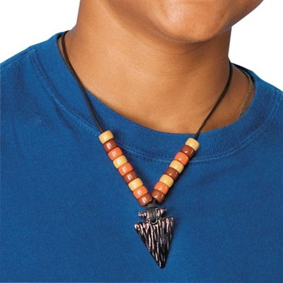 Arrowhead Necklace Craft Kit - Pack of 12