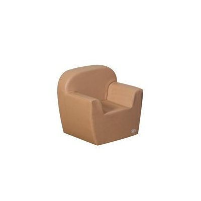 Club Chair - Lt. Almond Tan