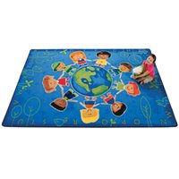Give The Planet A Hug Rug - 6' x 9'