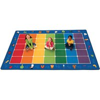 "Fun With Phonics Carpet - 8'4"" X 13'4"""