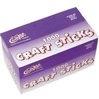 Jumbo Craft Sticks - Pack Of 500