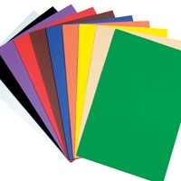 "Foam Sheets-9"" X 12""-Assorted-Pack of 10"