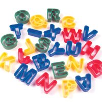 Letter Dough Cutters